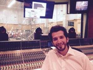 Adriano Aponte - Abbey Road Studio
